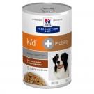 Hill's Prescription Diet Canine K/D + Mobility mijotés au poulet et légumes 12 x 354 grs