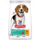 Hill's Science Plan Canine Adult Medium Perfect Weight Poulet 10 kg