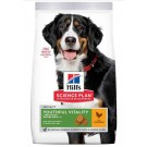 Hill's Science Plan Canine Mature Adult 5+ Youthful Vitality Large Breed Poulet 14 kg