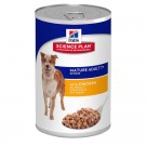 Hill's Science Plan Canine Mature Adult 7+ Poulet 12 x 370 grs- La Compagnie des Animaux