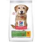 Hill's Science Plan Canine Mature Adult 7+ Youthful Vitality Small&Mini Poulet 1,5 kg