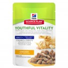 Hill's Science Plan Feline 7+ Youthful Vitality pour chat 12 x 85 grs - La Compagnie des Animaux