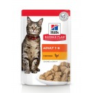 Hill's Science Plan Feline Adult Poulet sachets 12 x 85 g