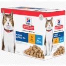 Hill's Science Plan Feline Mature Adult 7+ Pack Mixte sachets 12 x 85 grs