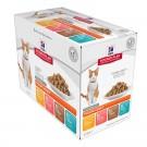 Hill's Science Plan Feline Young Adult Sterilised Tendres bouchées en sauce 12 x 85 g- La Compagnie des Animaux