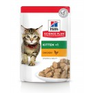Hill's Science Plan Kitten Poulet sachets 12 x 85 grs