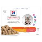 Hill's VetEssentials Feline Adult Poulet Saumon 12 x 85 g