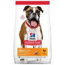 Hill's Science Plan Canine Adult Medium Light au poulet 12 kg- La Compagnie des Animaux