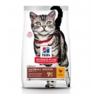 Hill's Science Plan Feline Adult Hairball Indoor Poulet 10 kg