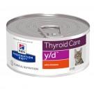 Hill's Prescription Diet Feline Y/D BOITES 24 x 156 grs- La Compagnie des Animaux