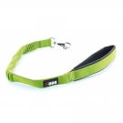 I-DOG Laisse Confort Elastique Vert/Gris 60 cm - La Compagnie des Animaux