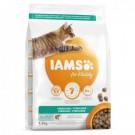 IAMS Vitality croquettes chat stérilisé saumon - La Compagnie des Animaux