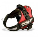 Harnais Power Julius-K9 Rouge M 51 à 67 cm