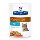 Hill's Prescription Diet Feline K/D Early Stage 12 x 85 g- La Compagnie des Animaux