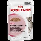Royal Canin Kitten Instinctive âgé de 4 à 12 mois Sachet 12 x 85 grs