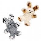 Kong Softies Fuzzy Bunny petite peluche herbe à chat - La Compagnie des Animaux