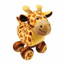 Kong TENNISHOES peluche girafe chien - La Compagnie des Animaux