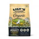 Lily's Kitchen Croquettes Poulet et légumes biologiques au four pour chien 7 kg- La Compagnie des Animaux