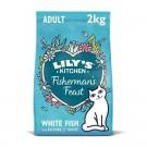 Lily's Kitchen Croquettes Sans céréales au Poisson Chat 2 kg