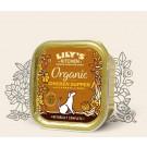Lily's Kitchen Organic Recette Bio au Poulet pour Chien 11 x 150 g- La Compagnie des Animaux