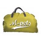 M-Pets Bilbao coussin pliable jaune moutarde - La Compagnie des Animaux