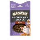 MEOWEE! Friandises Biscuits au boeuf pour chat 35 g