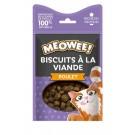 MEOWEE! Friandises Biscuits au poulet pour chat 35 g