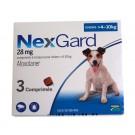 Nexgard Chiens 4 à 10 kg 3 cps- La Compagnie des Animaux