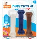 Nylabone Puppy Stages Chew Starter Kit Os 3x poulet S - La Compagnie des Animaux