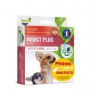 Offre Naturlys Collier insect plus petit chien - de 15 kg + 1 pipette offerte- La Compagnie des Animaux