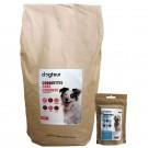Offre Dogteur: 1 sac de Croquettes Premium sans céréales saumon et truite chien adulte 15 kg acheté = 1 sachet de friandises Dogteur offert