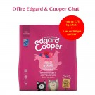 Offre Edgard & Cooper 1 sac Fabuleux Poulet & Canard croquettes sans céréales pour chaton 1,75 kg acheté = 1 sac de 300 g offert