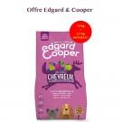 Edgard & Cooper Croquettes Chevreuil frais & Canard sans céréale Chien adulte 12 kg- La Compagnie des Animaux
