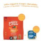 Offre Edgard & Cooper: 1 sac Succulent Poulet croquettes sans céréales pour chat adulte 1,75 kg acheté = 4 barquettes offertes
