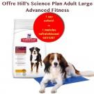 Offre Hill's: 1 sac Science Plan Canine Adult Large Advanced Fitness au poulet 18 kg acheté = 1 Matelas rafraîchissant 90 x 50 cm offert