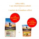 Offre Hill's: 1 sac Ideal Balance Canine Adult Sans Céréales thon et pomme de terre 2 kg acheté = 1 sachet de Friandises offert