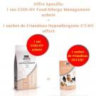 Offre Specific Chien: 1 sac CDD-HY Food Allergy Management 8 kg acheté = 1 sachet de Friandises Hypoallergenic CT-HY OFFERT