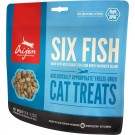 Orijen Six Fish Cat Treats chat - La Compagnie des Animaux