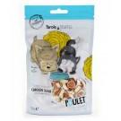 Parole de Truffes Friandises Sushi de Poulet pour chat et chien 80 g- La Compagnie des Animaux