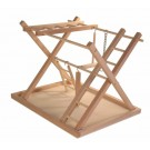 Trixie Plateau de jeu en bois pour oiseau 36 × 26 × 29 cm