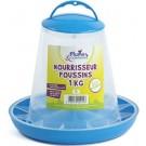Plume & Compagnie Nourrisseur plastique pour poussin 1 kg