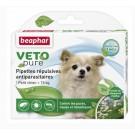 Beaphar VETOpure 3 Pipettes répulsives antiparasitaires petit chien - 15 kg