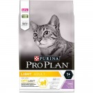 Purina Proplan Cat Light Dinde 3 kg- La Compagnie des Animaux
