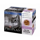 Purina Proplan Cat Nutrisavour Adult 7+ Dinde 10 pochons 85 grs- La Compagnie des Animaux