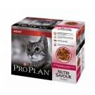 Purina Proplan Cat Nutrisavour Adult canard 10 pochons 85 grs- La Compagnie des Animaux