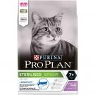 Purina Proplan Longevis Senior Cat Sterilised Dinde 3 kg + Dinde 3 kg- La Compagnie des Animaux