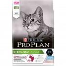 Purina Proplan Optisavour Adult Cat Sterilised Cabillaud et Truite 3 kg
