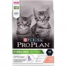Purina Proplan Optistart Kitten Sterilised au saumon 3 kg