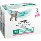 Purina Proplan PPVD Féline Gastro Intestinal EN sachets saumon 10 x 85 grs