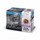 Purina Proplan Cat Nutrisavour Housecat Dinde 10 pochons 85 grs - La Compagnie des Animaux
